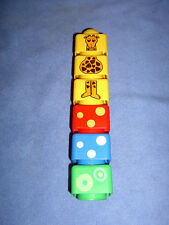 Lego Duplo Primo - 6 wunderschöne Primosteine, 2seitig bedruckt (1)