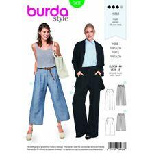 Burda Sewing Pattern 6436 Woman's Wide Leg Summer Classic Trousers