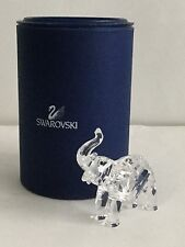 VINTAGE SWAROVSKI BABY ELEPHANT DESIGNED BY MARTIN ZENDRUM ARTICLE 191371 BOXED