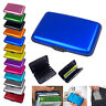 Waterproof Business ID Credit Card Wallet Holder Aluminum Metal Pocket Case