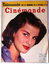 CINEMONDE 3/1955; Antonella Lualdi/ Jean Chevrier/ JC Pascal/ Greco, Lemaire