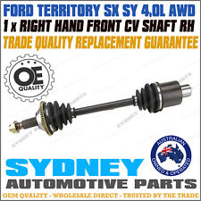 RIGHT / Driver Side Front CV Joint Drive Shaft Ford Territory SX SY  AWD RH