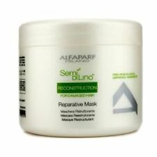 AlfaParf Semi Di Lino Reconstruction Reparative Mask for Damaged Hair, 17.2 oz