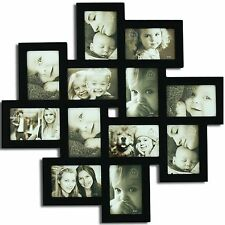 "Picture Frame Memory Photo Love family Wedding Friend Hanging Holds 12 , 4""x6"""