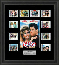 Grease Framed 35mm Film Cell Memorabilia Filmcells Movie Cell Presentation