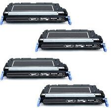 4 HP Color LaserJet 3600 3600N Laser Toner Cartridge black