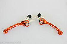 NEW KTM 65SX 85SX FORGED BRAKE & CLUTCH LEVER SET (2014-2018)-OR92S
