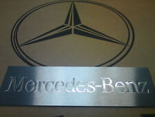 Mercedes-Benz Edelstahlschild (Eistiegsleiste Actros) LKW Original Mercedes-Benz