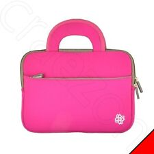 Neoprene Pink Case Cover Sleeve With Handle for Motorola XOOM Tablet