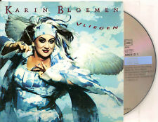 KARIN BLOEMEN - vliegen CD SINGLE 2TR CARDSLEEVE 1998 HOLLAND
