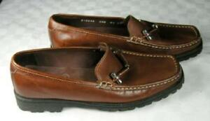 Cole Haan Brown Leather Penny Loafers Shoes 6.1/2 B