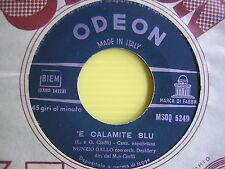 45 GIRI NUNZIO GALLO 'E CALAMITE BLU/ UVA NERA 1959