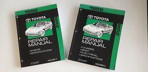 1992 Toyota MR2 Genuine Factory Workshop Manual.