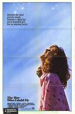 BOY WHO COULD FLY MOVIE POSTER Orig. 27x41 RARE ROLLED! FRED SAVAGE  FRED GWYNNE