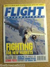 FLIGHT INTERNATIONAL - ALLISON 3007 - 10 April 1996