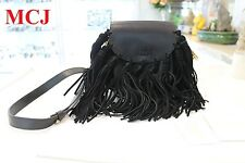 'Excellent Condition' Auth Chloe Hudson Mini Tasseled Leather Shoulder Bag