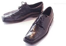 Men's State Street Oxford leather Shoes Dress Casual Size 9.5 W black NWOB