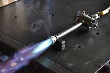 "Gas propane burner for blacksmiths forge, furnace. 1/2"" Small."