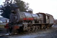 PHOTO  SOUTH AFRICAN RAILWAYS - CLASS 12A 4-8-2 2134 AT GERMISTON LOCO. SHED