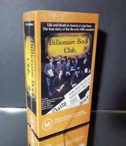 Billionaire Boys Club - Box Set - VHS Video - NEW/Sealed