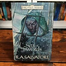 Paths of Darkness: Sea of Swords Bk. 3 by R. A. Salvatore (2001, Hardcover, 1st)