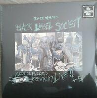 Black Label Society - Alcohol Fueled Brewtality-Live! + 5 Blue 2 Vinyl LP 500 WW