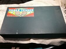 VINTAGE TOURNAMENT TABLE TENNIS/PING PONG SET BY MILTON BRADLEY USA