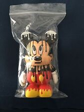 "Disney Vinylmation 3"" - Urban 4 Series Chaser Paint Drip Mickey W/ Card"