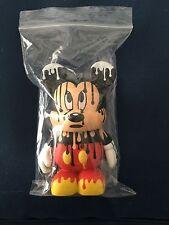 "Disney Vinylmation 3"" - Urban 4 Series Chaser Paint Drip Mickey W/ Card"