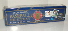 1992 DONRUSS COLLECTOR FACTORY BASEBALL 784 CARD SET W/BONUS LEAF PREVIEW CARDS