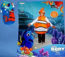 Disney NEMO Costume-Finding Dory;child 4-6-Ocean Fish;tunic-headpiece;socks;LOT