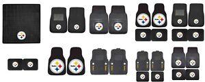 Pittsburgh Steelers Heavy Duty Vinyl Car Truck SUV Auto Floor Mats NFL FANMATS