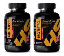 Anti-aging powder - ANTIPARASITE – RESVERATROL COMBO - papaya leaf extract