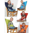 Baby Portable Seat Kids High Chair Harness Child Booster Seat Safety Belts