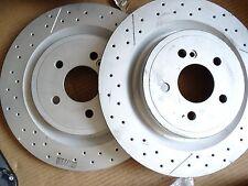 1 mercedes a klasse bremse AMG bremsscheibe hinten a45 w176 slk w172 a1724230112