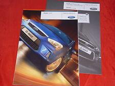 Ford C-MAX AMBIANCE style Ghia titanium prospectus + liste de prix de 2008