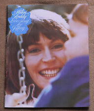 Helen Reddy - Love Song For Jeffrey - 1975 sheet music song book songbook