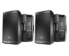 2x JBL EON612 Active Loudspeaker Powered Monitor Speaker Pair