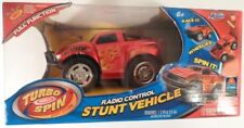 "Jada Turbo Spin 5.5"" Radio Control Stunt Racer - Red Brand New In Package"