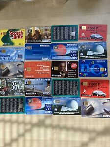 France Phonecards 20 Used