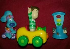 Blues Clues Racing Collectible Playset, Steve,  Blue, Car,  Fisher Price 2001