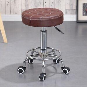 Adjustable Swivel Chair hydraulic lift 360 Rotation Stool Bar Beauty Salon Spa b