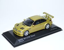 BMW M3 GTR E46 street racing interior phoenixgelb gold Minichamps 400012101 1:43