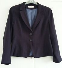 George size 16 fully lined tailored jacket. Navy with wide pinstripe