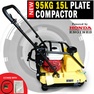 NEW Genuine Honda Powered 95KG Plate Compactor Wacker Packer Industrial