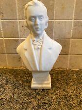 Vintage Salt Sculpture Bust Of  Musician Chopin