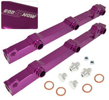 For 03-06 350Z G35 3.5L Fairladyz Upgrade Fuel Rail Injector Assembly Kit Purple
