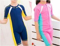Boys Girls Swimming Costume Swimwear One piece Surf Age 2 3 4 5 6 7 8 9 years