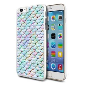 Cute Mermaid Scales Design Hard Case Cover for Various Mobile Phones