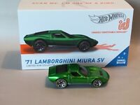 Hot Wheels ID Car '71 Lamborghini Miura SV 2020 Series 2